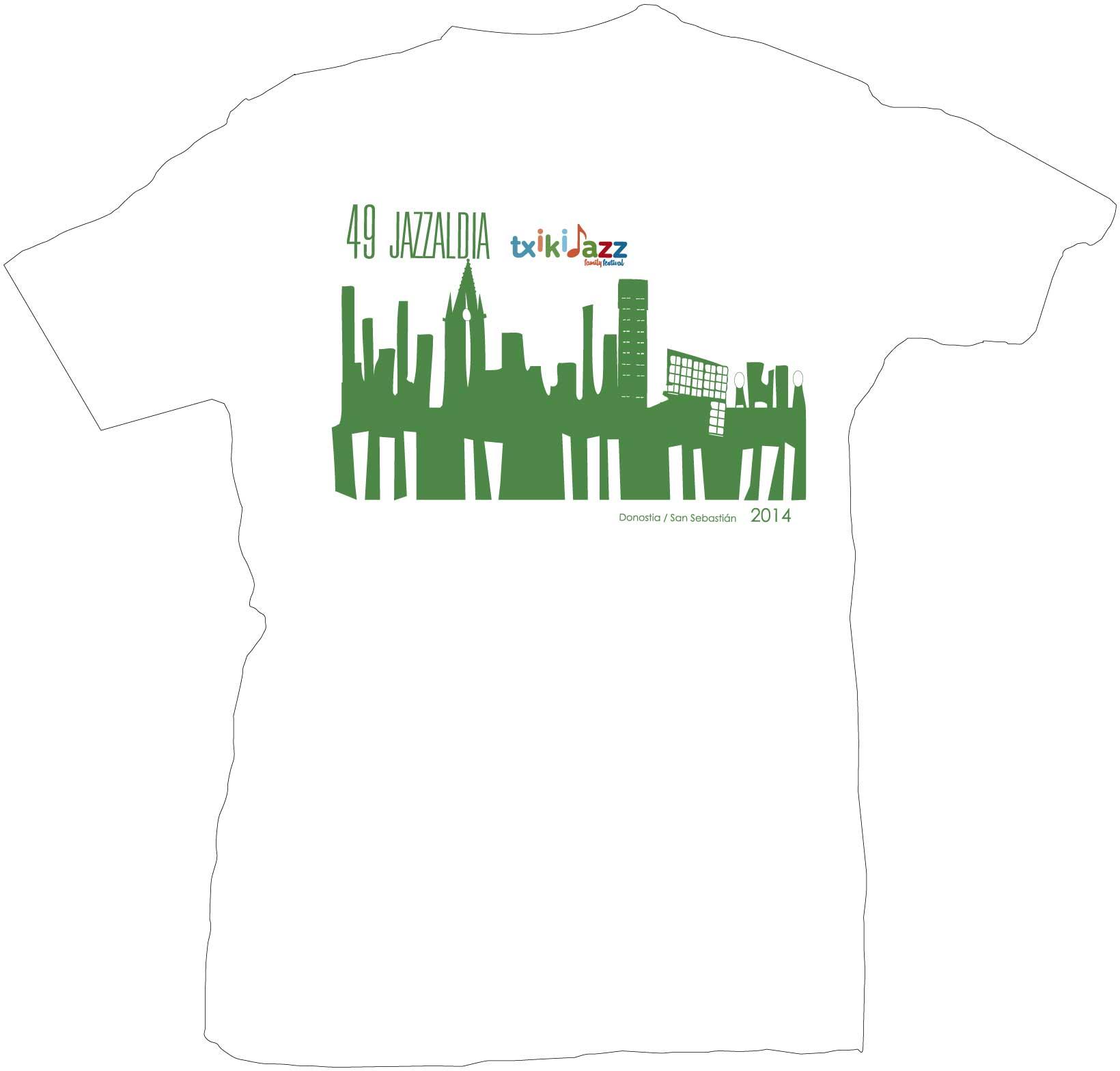 camiseta-niño jazzaldia donostia 2014