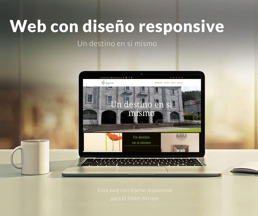 web hostelería